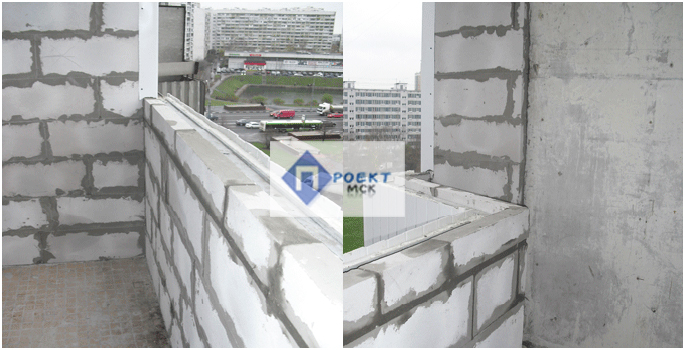 Подготовка балкона к остеклению укрепление балкона перего....