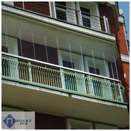 Безрамное остекление балконов и лоджий по доступным ценам.