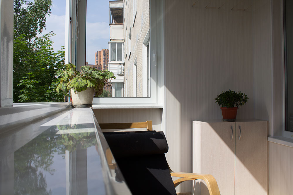 Внутренняя отделка балконов и лоджий в люберцах. цены на отд.