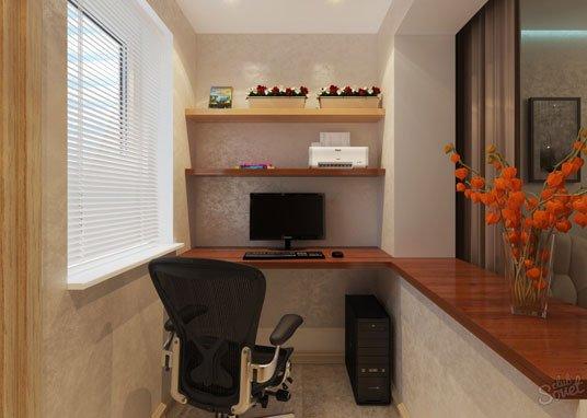 Рабочий стол на балкон