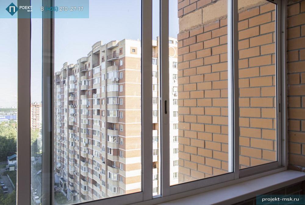 Утепление балкона с холодным остеклением..