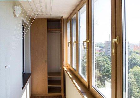 Шкафы на балкон в чите..