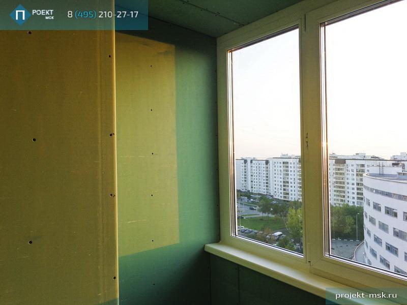 Стоимость совмещения с комнатой и утепление лоджии. - балкон.