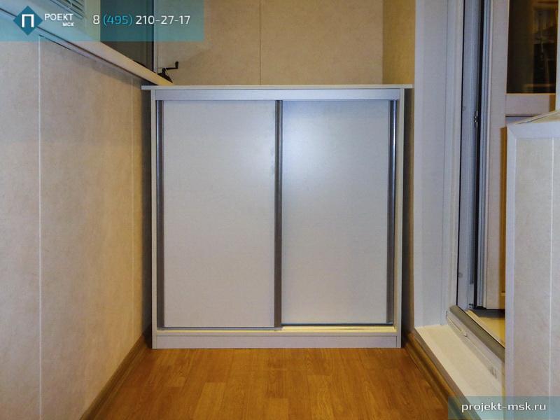 Балконные шкафы 2400x1450x400..