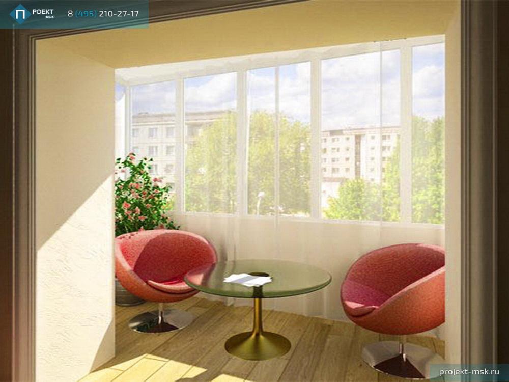 Остекление балкона и совмещение с комнатой.