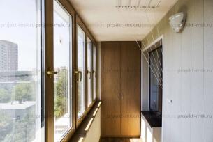 Тёплое остекление балкона под ключ