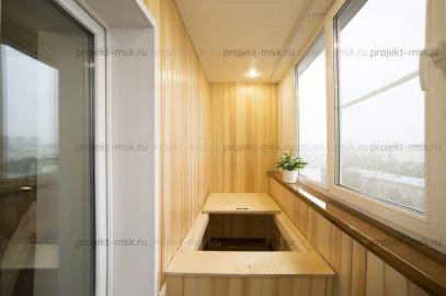 Утепление лоджии шесть метров со шкафом