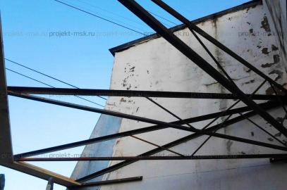 Полукруглая крыша для балконов и лоджий