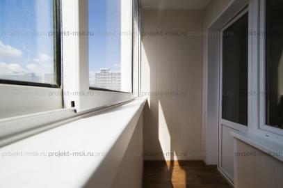 Отделка балкона в новостройке