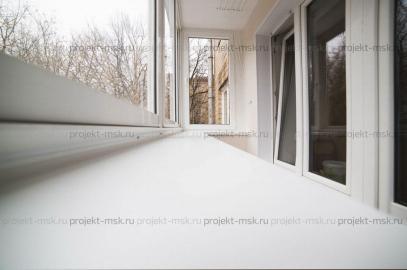 Остекление балкона Слайдорс на выносе