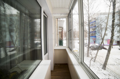 Отделка балкона в пятиэтажке