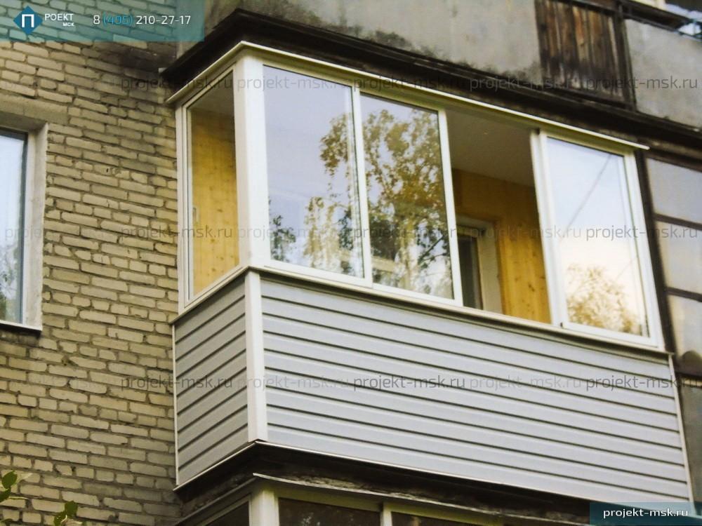 Как осуществить внутреннюю отделку балкона.