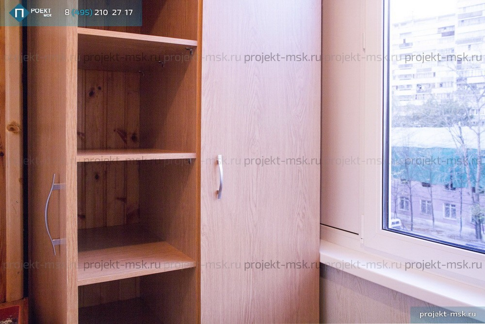 Наши работы - распашной шкаф.